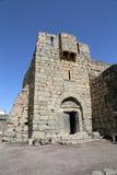 Руины Azraq рокируют, центральн-восточное Джордан, 100 km к востоку от Аммана Стоковые Изображения