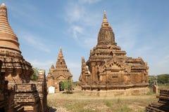 Руины Bagan, Мьянмы Стоковые Фото