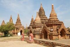 Руины Bagan, Мьянмы Стоковая Фотография