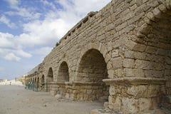 руины caesarea мост-водовода Стоковое фото RF
