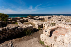 руины chersonesos Стоковые Фотографии RF