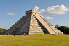 Руины Chichen Itza майяские Стоковые Изображения RF