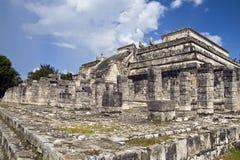Руины Chichen Itza, Мексика Стоковое Изображение RF