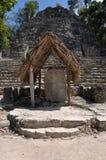 руины coba майяские Стоковая Фотография