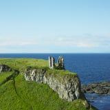 руины dunseverick замока Стоковая Фотография RF