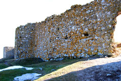 Руины Enisala Стоковое фото RF