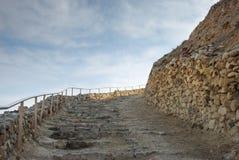 Руины Herodium или Herodion, крепости Herod большая стоковые изображения rf