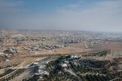 Руины Herodium или Herodion, крепости Herod большая стоковое изображение rf