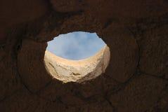 Руины Herodium или Herodion, крепости Herod большая стоковые фото