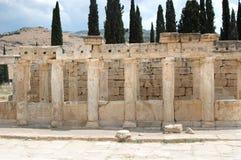 руины hierapolis Стоковые Фото