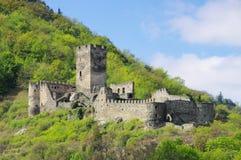 Руины Hinterhaus замка шпица Стоковая Фотография