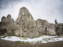 Руины Hohenfreyberg Стоковые Фотографии RF