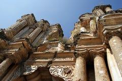 руины iglesia carmen церков de el Стоковое Фото