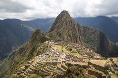 Руины Inca Machu Picchu Стоковые Изображения RF