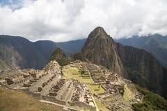 Руины Inca Machu Picchu Стоковое Изображение RF