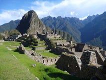 Руины inka picchu Machu священные Стоковое Фото
