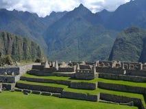 Руины inka picchu Machu священные Стоковые Фотографии RF