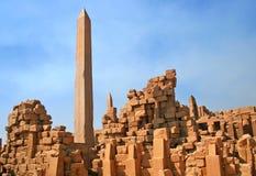руины karnak Стоковое Изображение
