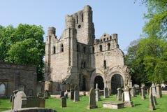 руины kelso аббатства Стоковая Фотография