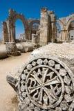 руины latakia замока далекие старые сирийские Стоковая Фотография