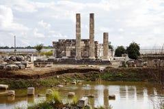 Руины Letoon, Турция Стоковая Фотография RF