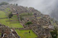 Руины Machu Picchu в Перу стоковые фото