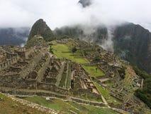 Руины Machu Picchu в Перу стоковое фото rf