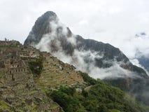 Руины Machu Picchu в Перу стоковые изображения rf