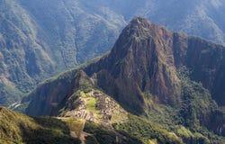 Руины Machu Picchu Стоковые Изображения RF