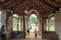 Руины Mantri Manai или Manthiri Manai - Джафны - Шри-Ланки стоковые изображения