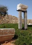 руины maritima caesarea Израиля Стоковые Изображения