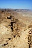 Руины Masada, Израиль Стоковые Фотографии RF
