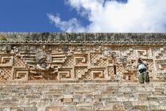 Руины Maya Стоковое фото RF
