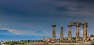 Руины Mycenae стоковые фотографии rf