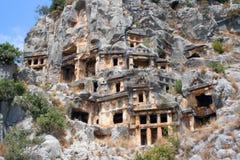 руины myra Стоковое Фото