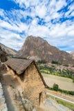 руины ollantaytambo Стоковое Фото