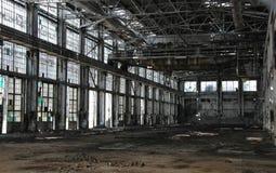 руины oltenita зернокомбайна химикатов промышленные Стоковые Фото