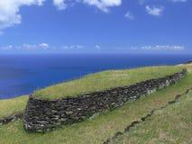 Руины Orongo Стоковое Фото