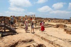 руины paphos Стоковое фото RF