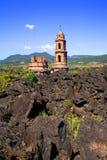 руины parangaricutiro Стоковая Фотография RF