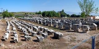 Руины Perge Стоковое фото RF