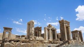 Руины Persepolis в Иране стоковое изображение