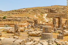 Руины Persepolis Стоковое Изображение RF