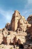 руины petra Стоковое Изображение RF