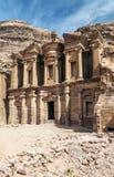 руины petra Стоковые Изображения