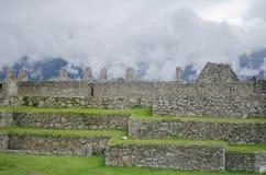 руины picchu machu Стоковая Фотография