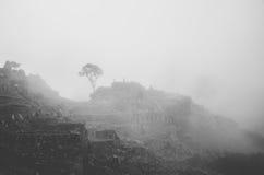 руины picchu machu Стоковые Фотографии RF