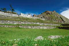 руины picchu machu Стоковая Фотография RF