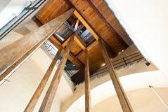 руины poggioreale двери балкона Стоковые Фото