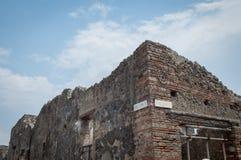 Руины Pompei стоковое изображение rf